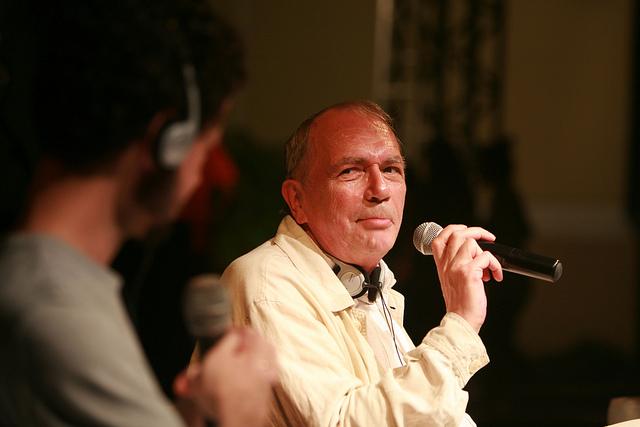 O francês Jacques Demarcq participa, plea primeira vez, do festival.  Foto: Otávio de Souza