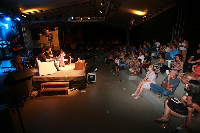 Cerca de 4 mil pessoas acompanharam, de 22 a 25 de maio, a programação do FIP 2014. Foto: Otávio de Souza/Secult-PE